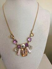 $38 Nine West Crystal Necklace Purple Tones #204(3)