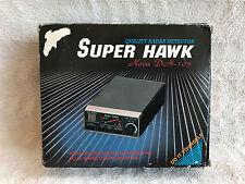 Super Hawk Nova DH-105 Radar Detector Superheterodyne Dual Band X, K Frequencies