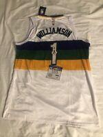 Zion Williamson Autographed Pelicans Nike Swingman Jersey City Edition W/coa VSA