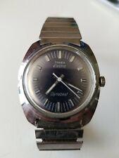 Vintage Men's Timex Electric Dynabeat Time Zone Wrist Watch