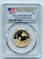 2019 S $1 Sacagawea Dollar PCGS PR70DCAM First Strike
