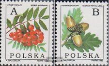 Polen 3549x-3550x (compleet Kwestie) postfris MNH 1995 Laubbaumfrüchte
