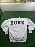 Vintage Duke University Blue Devils Sweatshirt Dad Sweater Large Crewneck Rare