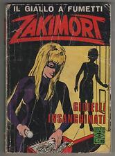 ZAKIMORT N.80 GIOIELLI INSANGUINATI C.E.A sansoni 1972 DIFETTOSO