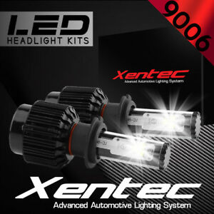 XENTEC LED HID Headlight kit 388W 38800LM 9006 6000K for 1993-1997 Volvo 850