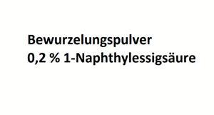 10 g Bewurzelungspulver Naphthylessigsäure NAA Stecklinge Bewurzelungshormon