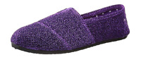 DAWGS Women's Size 6 Kaymann Glitter Purple Ballet Flat