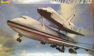 Revell 1/144 Boeing 747-100 and Space Shuttle