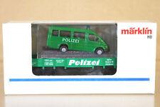 MARKLIN MäRKLIN 4423 DB POLIZEI NIEDERBOARD WAGEN & FORD TRANSIT VAN LOAD GREEN