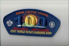 Simon Kenton Council 2007 World Jamboree JSP (Blue)
