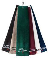 Titties 2 -Golf-Hat-Cap-PGA-Bachelor- - Grommeted Tri-Fold Golf Towel