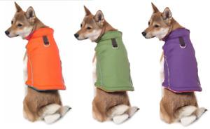 Gooby Dog Coat - XS Orange - Leash Ring - Reflective - Fleece Interior - NWT