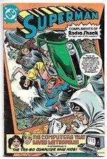Superman Radio Shack Giveaway (DC, 1980) – Promo Comic Book – VG/FN