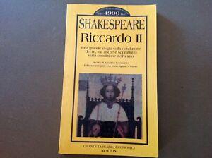 RICCARDO II - WILLIAM  SHAKESPEARE - NEWTON TASCABILI