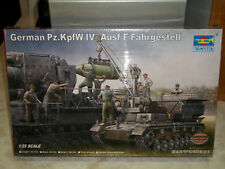 Trumpeter 1/35 Scale German Pz.Kpfw. IV Ausf.F Fahrgestell - Factory Sealed