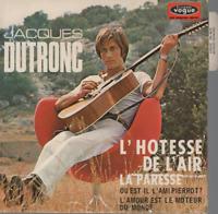 """Jacques Dutronc L'Hotesse De L'Air 45T 7"""" EP avec languette"""