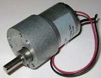 200 RPM Heavy Duty 5 V DC Gearhead Motor - Gear Reduction 5 VDC Motor w/ D Shaft