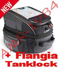 BORSA SERBATOIO TANKLOCK XS306 YAMAHA FZ6 FZ1 R1  XT1200Z + FLANGIA BF05