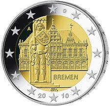 2 EURO Germania 2010 - Bremen - 5 zecche