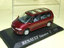 RENAULT ESPACE III 1996 BORDEAUX  UNIVERSAL HOBBIES défaut default