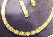 JEWELS BY PARK LANE JEWELRY - GOLDTONE BROADWAY NECKLACE & BRACELET SET