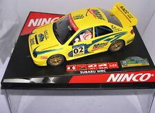 "NINCO 50257 SLOT CAR SUBARU IMPREZA WRC ""CATALUNYA COSTA BRAVA 2002"" LTED.ED"