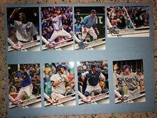 2017 TOPPS UPDATE SERIES BASEBALL CARDS YOU CHOOSE US2-US295 MLB CARD FREE SHIP