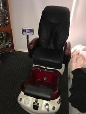 massage chair with foot spa