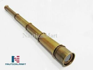 "NauticalMart 18"" Nautical Brass Spy Glass Telescope"