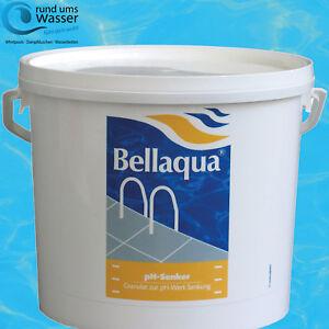 Bellaqua ph Senker 6kg ph - Minus Pool Schwimmbad ph Wert Bayrol Poolpflege