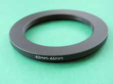 62mm-46mm Stepping Step Down Male-Female Lens Filter Ring Adapter 62mm-46mm