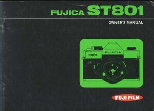 Fujica ST801 Instruction Manual original in English + multi-language original