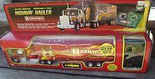 "Vintage 1985 New Bright Kenworth Highway Hauler 18"" Toy Rig Remote Control Truck"