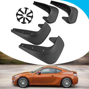 4PCS Car Universal Accessories Mud Flaps Splash Guards Front Rear Plastic Fender