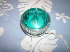 Duncan Vintage Aqua Marine Two Sided Tinted Yoyo With String Superspeed Speckles