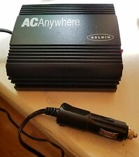 Belkin AC Anywhere Adapter 12v DC to 110v AC 60 HZ 140 Watts