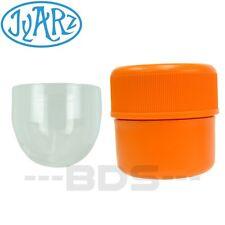 Orange Jyarz Chico Storage Container Glass BPA Free USA -Made Herb Jar