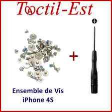 Ensemble Jeu de Vis Complet + Tournevis Aimanté pour iPhone 4S OEM