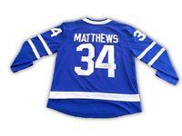 Auston Matthews Signed Toronto Maple Leafs Jersey Fanatics COA Autograph Reebok