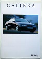 Opel Calibra Young/Cliff/Classic - Prospekt/Katalog/Brochure original von 1996