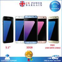 SAMSUNG GALAXY S7 BLACK GOLD G930F 32GB SIM FREE UNLOCKED ANDROID MOBILE PHONE