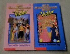 Lot 2 THE BABY SITTERS CLUB Vhs Video Tapes 2 7 Dawn & Haunted House DREAM BOY