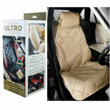 Front Car Seat Cover Champagne Beige Etech Ultro Plush Protector Mat Chair Cushi