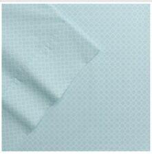 "New The Big One Queen size Sheet Set 4 pc 17"" Pockets Pima Cotton - Blue Trellis"