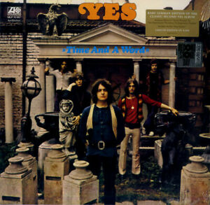 YES TIME AND A WORD VINILE LP RSD BLACK FRIDAY 2018