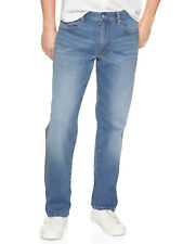 GAP Mens Straight Leg Wearlight Denim Stretch Size 30W 32L Jeans 5998-3