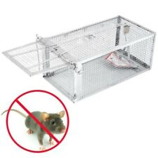 1 Door Animal Trap Steel Cage for Small Live Rodent Control Rat Mice Squirrel Go