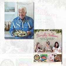 Simply Italian and Pasta ,2 Books Collection Set (The Essential New Collection)