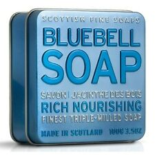 Scottish Fine Soaps Nourishing Bluebell Soap in a Tin 100g 3.5oz