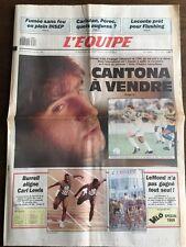 Journal l'Equipe - 25 Juillet 1990 - 45 eme année - n 13753